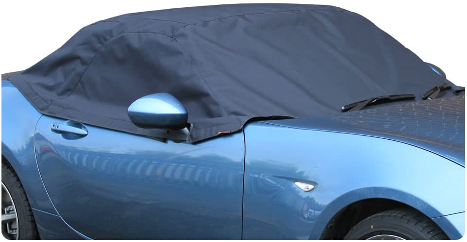 Half Size Car Cover fits Fiat 124 Spider 2016 onwards